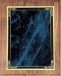 Walnut Plaque - Blue Marble Mist Walnut Plaques