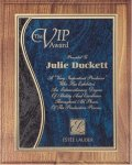 Walnut Plaque - Blue Swirl Walnut Plaques