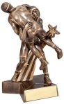 Wrestling Super Star Trophy (Male) Wrestling Trophy Awards